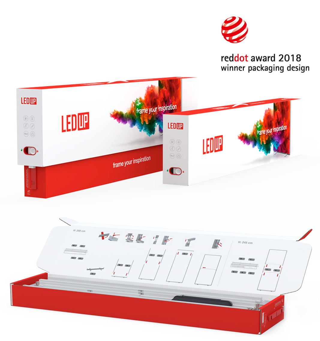 LED UP - Messewand, Werbewand, leuchtend LED Osram Technik, Leuchtdisplays LED Displays Österreich, Deutschland